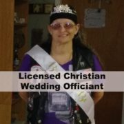 Licensed Christian Wedding Officiant
