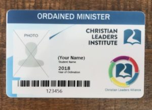 Ordained Clergy ID