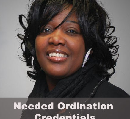 Needed Ordination Credentials