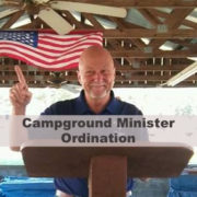 Campground Minister Ordination