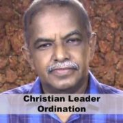 Christian Leader Ordination