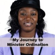 Journey to Minister Ordination