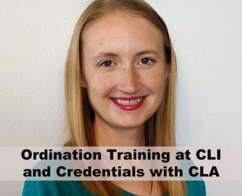 Ordination Training and Credentials