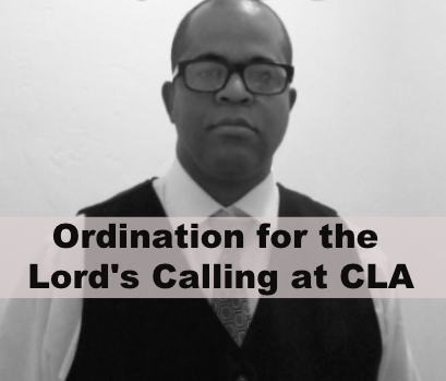 Ordination for the Lord's Calling