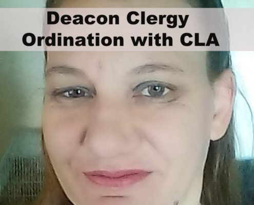 Deacon Clergy Ordination
