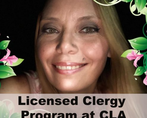Licensed Clergy Program