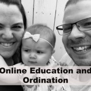 Online education and ordination