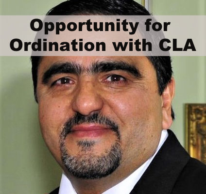 Opportunity for Ordination