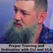 Proper Training and Ordination