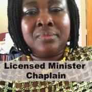 Licensed Minister Chaplain