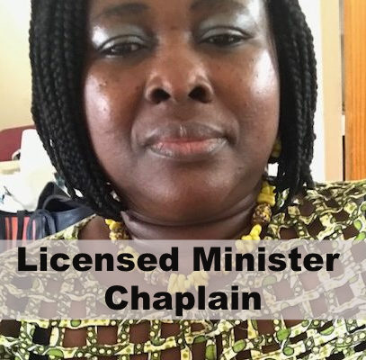 Licensed Minister Chaplain