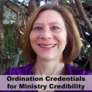 Ordination Credentials for ministry credibility